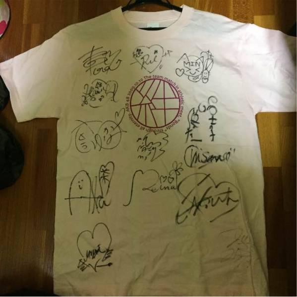 AKB48 直筆サイン入り 大運動会 絆Tシャツ 旧チームA