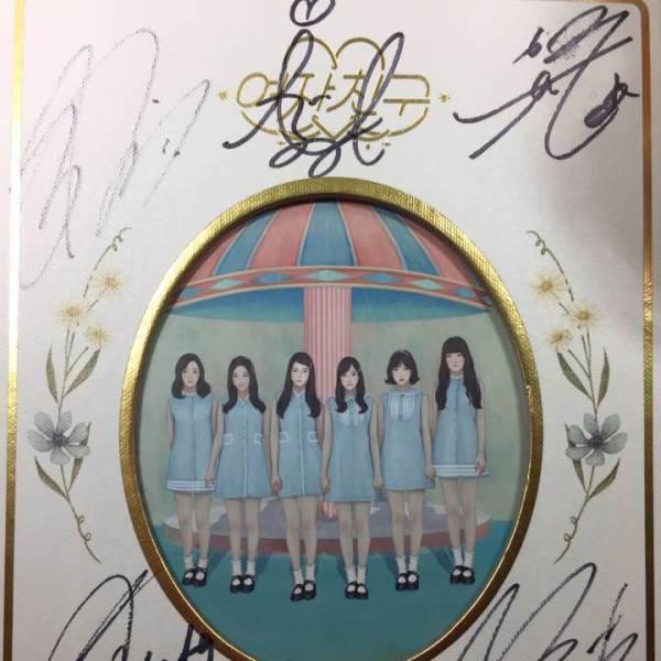 GFRIEND メンバー全員 直筆サイン入り アルバム DVD コンサートグッズの画像