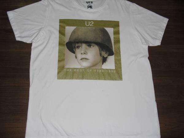U2 The Best of 1980-1990 Tシャツ (ユニクロコラボ バンド Tシャツ UT) XL