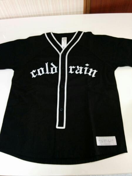 coldrain ベースボールTシャツ コールドレイン Mサイズ 0353