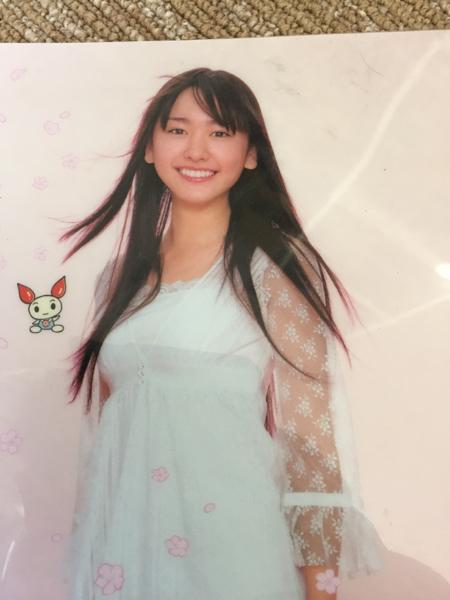 新垣結衣 日本赤十字社クリアファイル グッズの画像