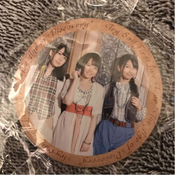 TrySail 1stツアー 缶バッジ 同封可 g