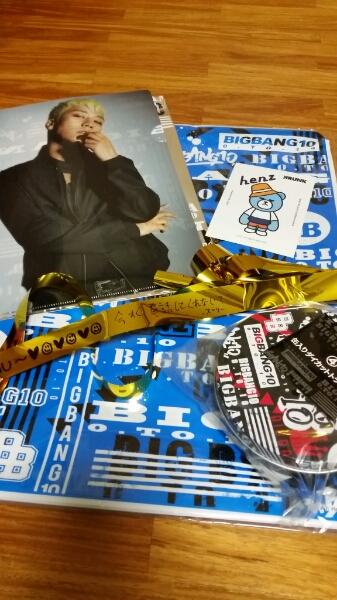 BIGBANG スンリ(V.I)ローソンくじ 3点+ステッカー+過去金テープ