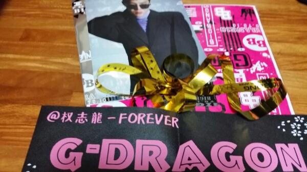 BIGBANG ジヨン(G-Dragon)ローソンくじ 2点+金テープ.スローガン