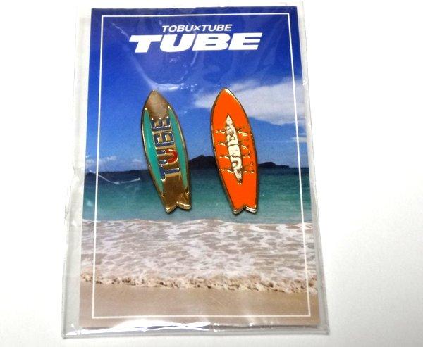 東武百貨店 チューブ TUBE コラボレーション ピンバッジ 新品 ピンバッチ ピンズ