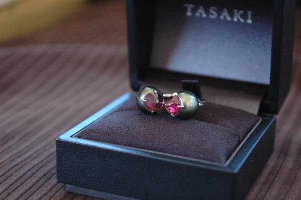 TASAKI銀座ブティック 定価345,600円 広告モデルのリファインドリベリオン 10 _画像3