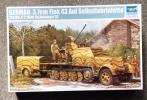 トランペッター 01527 1/35 Sd.Kfz.7/2 3.7cm Flak43