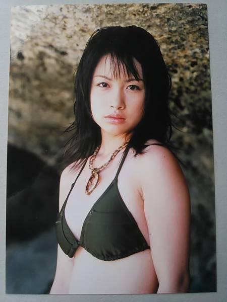 (=^ェ^=) 寺田有希 生写真 3枚組 B 非売品 ビキニ