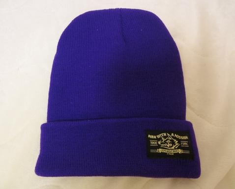 MAN WITH A MISSION ニット帽 紫