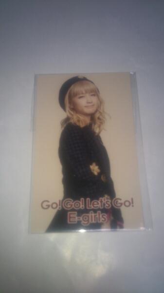 E-Girls Dream Ami フォトカード go! go! Let's go! グッズ