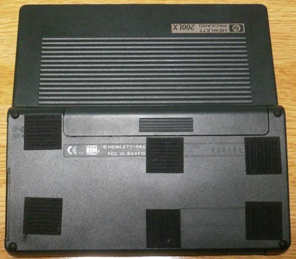 HP200LX(2MB) + 40MBフラッシュディスク(DPF-40)_画像3