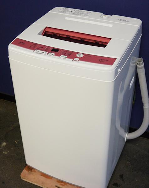 ◎美品 2016年製 AQUA 洗濯機6kg AQW-KS60D_画像2