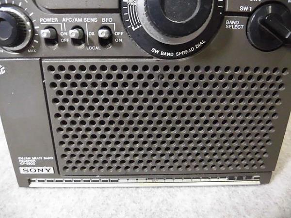 ◆ジャンク/SONY/BCLラジオ ICF-5900◆_画像3