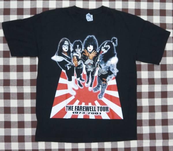 【アメリカン・ロックTシャツ】 キッス KISS 2001年ジャパンツアー  ライブグッズの画像
