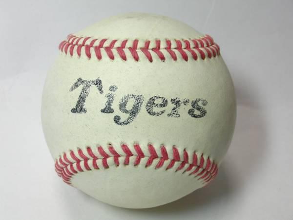 阪神タイガース 練習球 硬球 野球 ボール