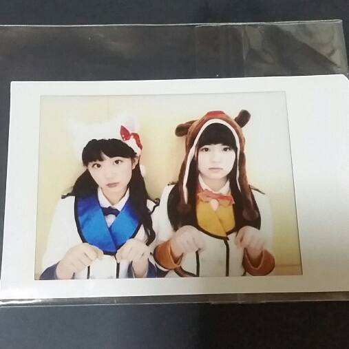 SUPER☆GiRLS  阿部夢梨、尾澤ルナ  チェキ