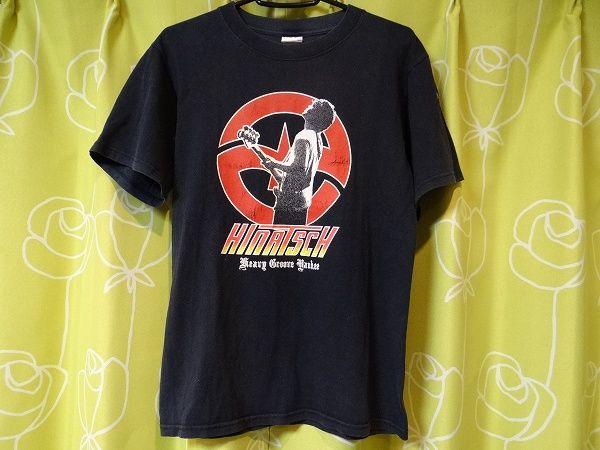 日向秀和 ART-SCHOOL ZAZEN BOYS Nothing's Carved Tシャツ