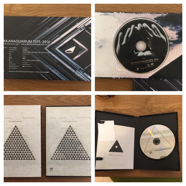 美品 サカナクション DVD セット 2014 2015 2016 ライブグッズの画像