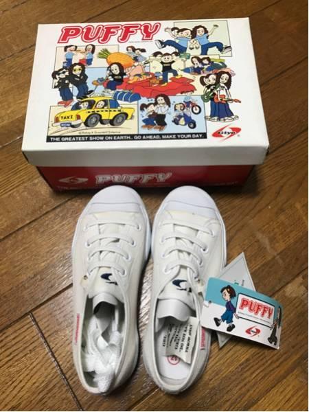 PUFFY スニーカー 17 新品 ライブグッズの画像