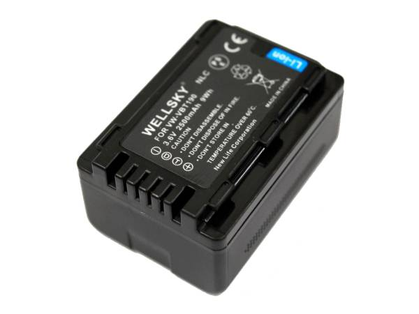 新品 パナソニック Panasonic VW-VBT190 VW-VBT190-K 互換バッテリー HC-WX990M HC-WXF990M HC-WX995M HC-VX985M HC-VZX2M HC-W590M _残量表示可能