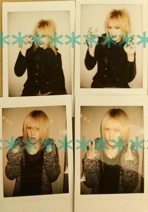 D(ディー)★1/9MTP闇アリ Ruiza チェキ HIDE-ZOU HIROKI ASAGI