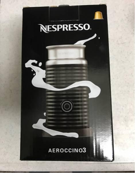 【即決】エアロチーノ3 新品 ネスプレッソ ネスカフェバリスタ