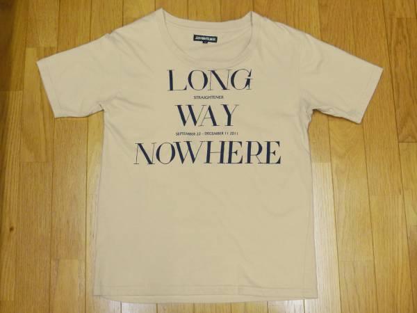 【 ストレイテナー 】2011ツアー プリントTシャツ M アイボリー ライブグッズの画像