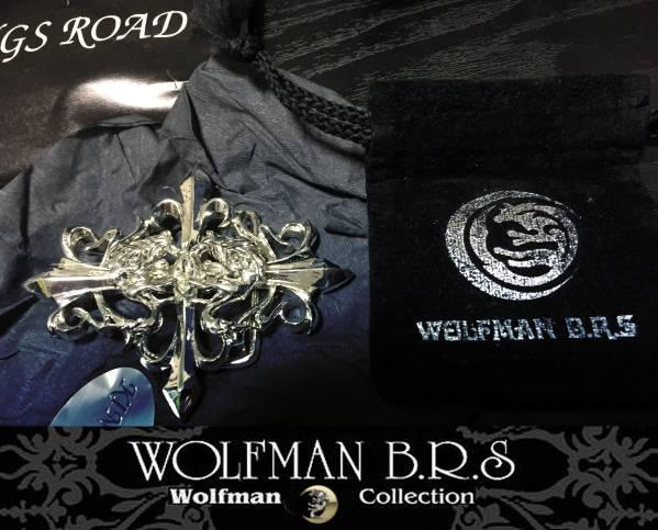 WOLFMAN B.R.S ウルフマンBRS ハヤト白狼牙バックル (シルバーフィルム) 中古 美品 レターパックライト発送_画像2