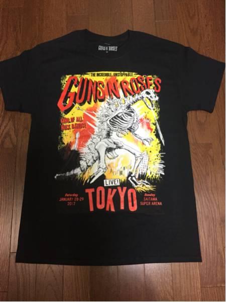 GUNS N' ROSES さいたま限定「TOKYO ZILLA」Mサイズ 新品 ガンズアンドローゼズ ライブグッズの画像