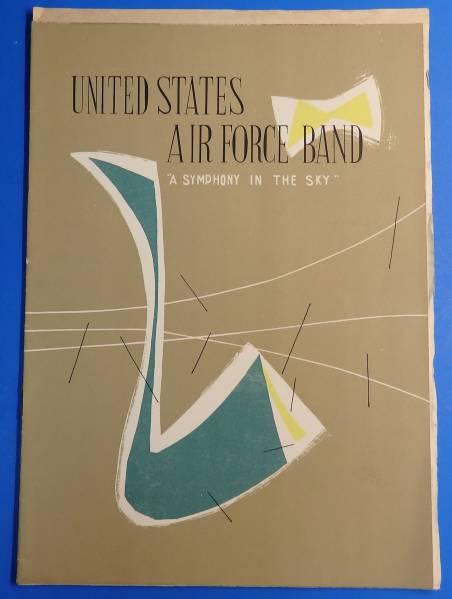 「アメリカ空軍交響楽団演奏会」1956年