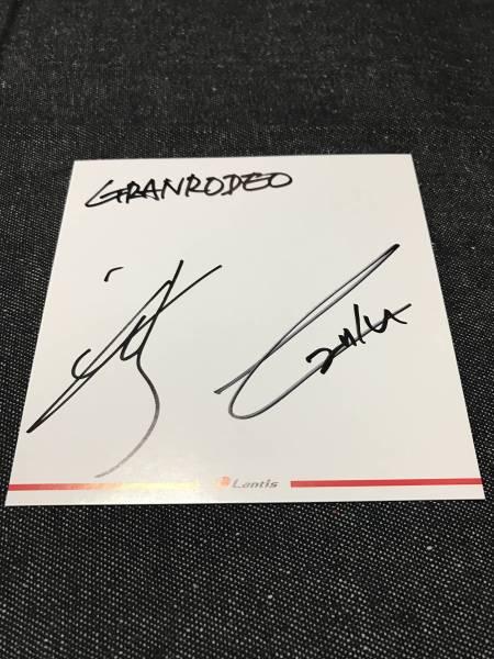GRANRODEO 直筆サイン