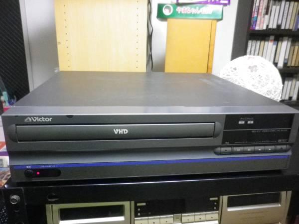 [ジャンク] ビデオディスク(VHD)プレーヤー ビクター RM-D7 (電源投入時、フタが開きません) (取扱説明書、リモコン付) - ヤフオク!
