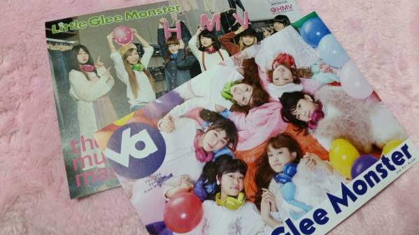 Little Glee Monster★フライヤーセット★