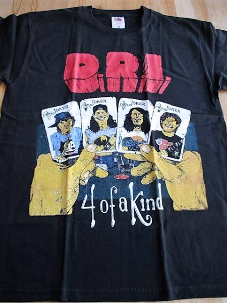 D.R.I. Tシャツ 4 of a kind 黒M / corroion of conformity s.o.d. accused anthrax