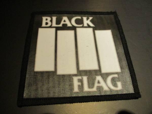 BLACK FLAG プリントパッチ ワッペン / circle jerks bad brains
