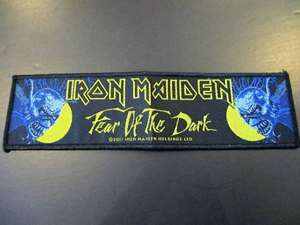 IRON MAIDEN 刺繍パッチ ワッペン fear of the dark / metallica helloween