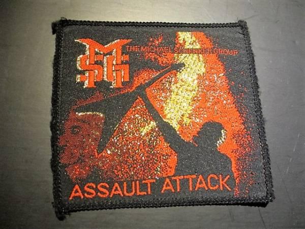 MSG 刺繍パッチ ワッペン michael schenker / assault attack