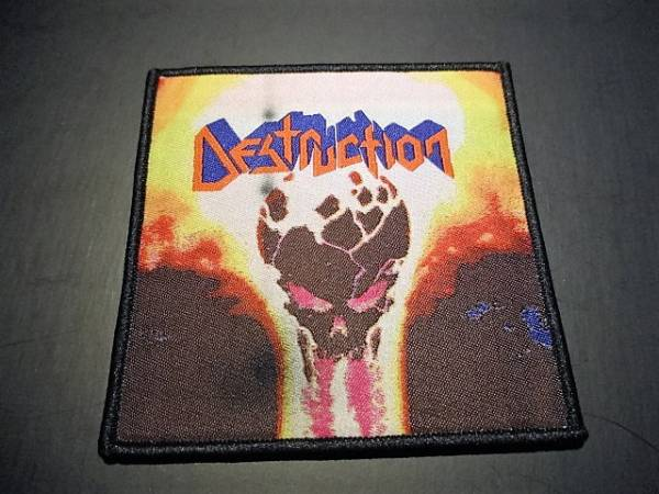 DESTRUCTION 刺繍パッチ ワッペン Infernal Overkill / metallica slayer kreator sodom
