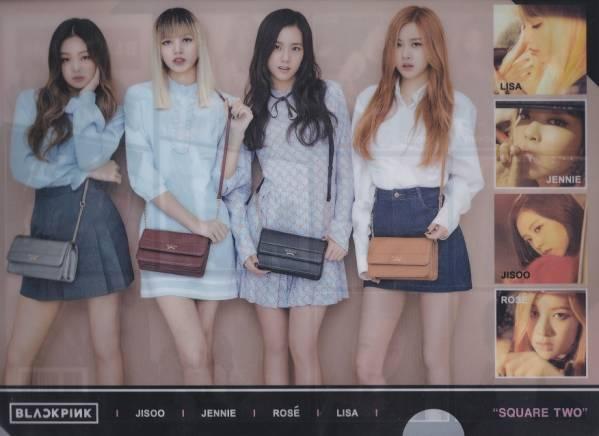 ☆New!■BLACKPINK/ブラックピンク■写真付【新クリアファイル】☆韓国最新版