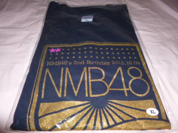 NMB48 2nd Birthday 2周年記念Tシャツ XLサイズ 2012.10.09