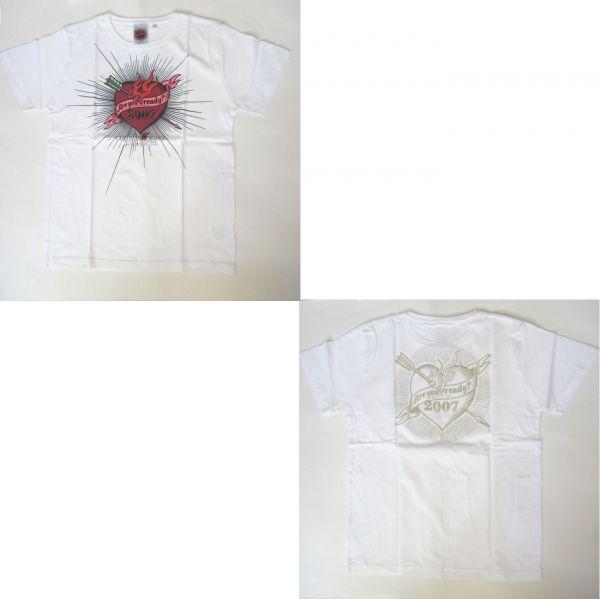 L'Arc 2007 Tシャツ(ホワイト) ラルクhydeVAMPSグッズ