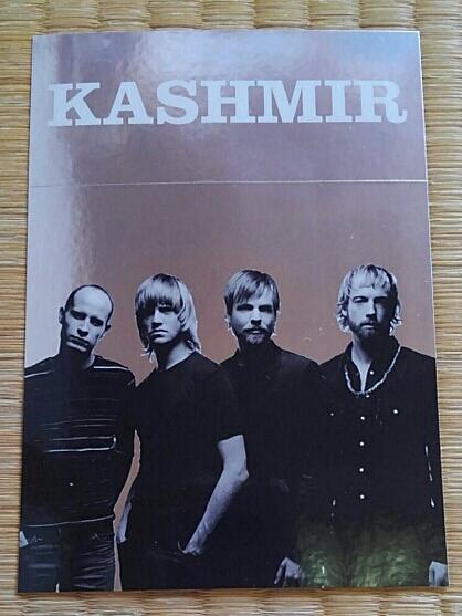 KASHMIR◇ポストカード(リーフレット)