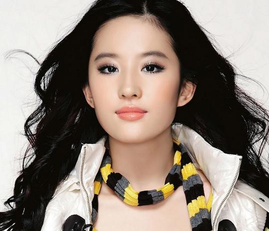 新品 中国美人女優 劉亦菲リュウ・イーフェイ写真マウスパッド3