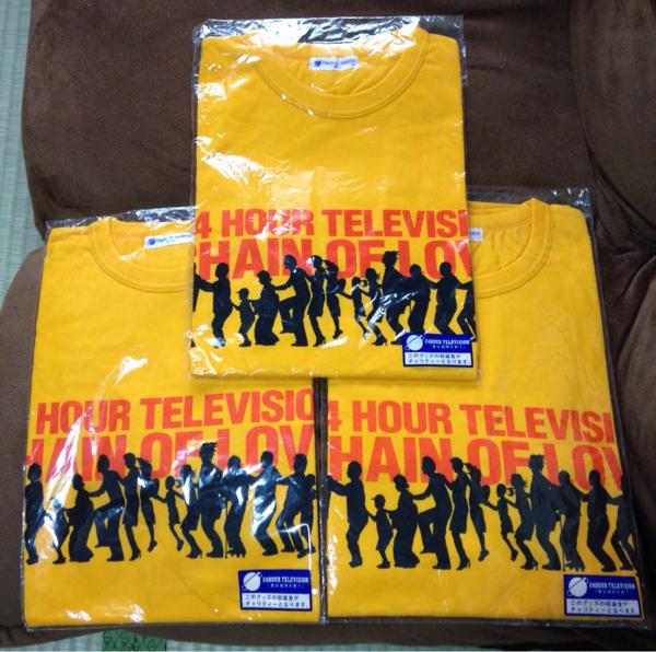 TOKIO▲24時間テレビ Tシャツ▲S M Lコンプリート▲新品グッズ