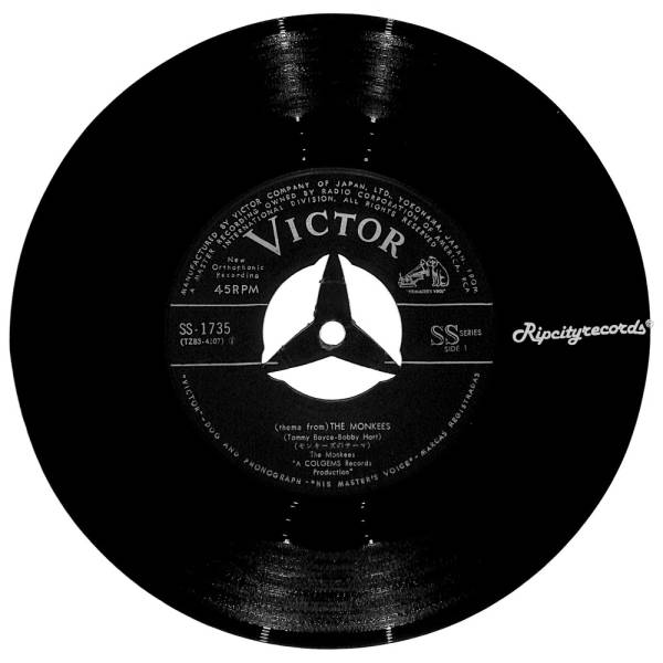 【レコード/7inch】THE MONKEES /THEME FROM THE MONKEES_画像3