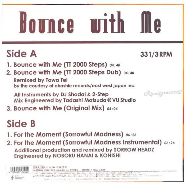 【レコード/邦】SAYUKI /BOUNCE WITH ME_画像2