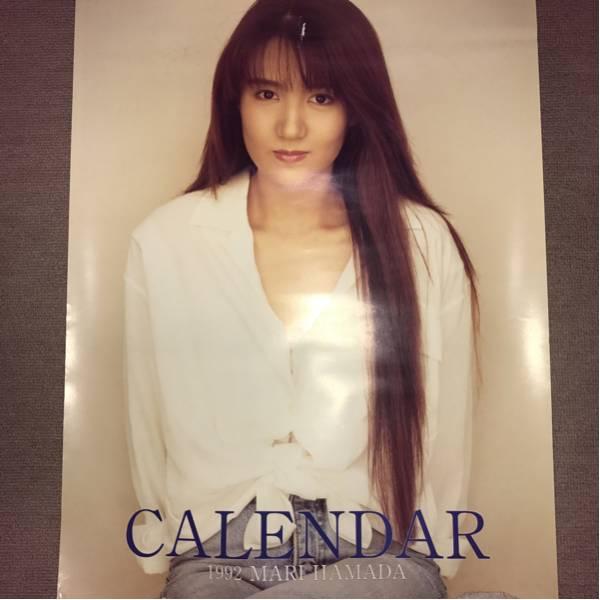 浜田麻里 カレンダー 1992 ライブグッズの画像