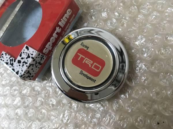 ☆新品☆ TRD ホーン ボタン メッキ JZA70 JZA80 JZX81 JZX90 JZX100 AE86 AE101 AE111 EP82 EP91 GZ10 MZ20 JZZ30 GX71 GX61 ZN6 ZZW30_画像3
