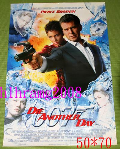 Die Another Day ジェームズ ボンド 007 告知ポスター