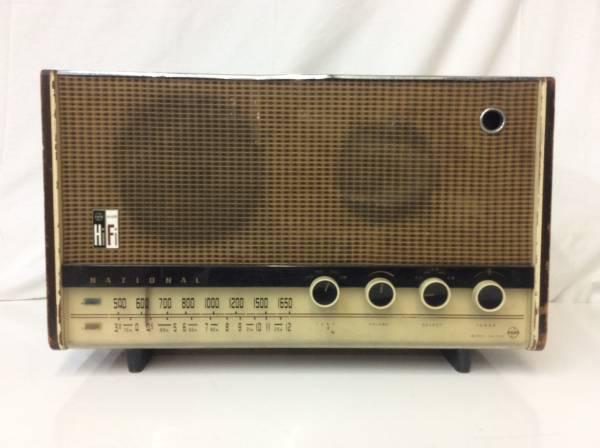 レトロ ラジオ ナショナル EA-700 真空管 ジャンク